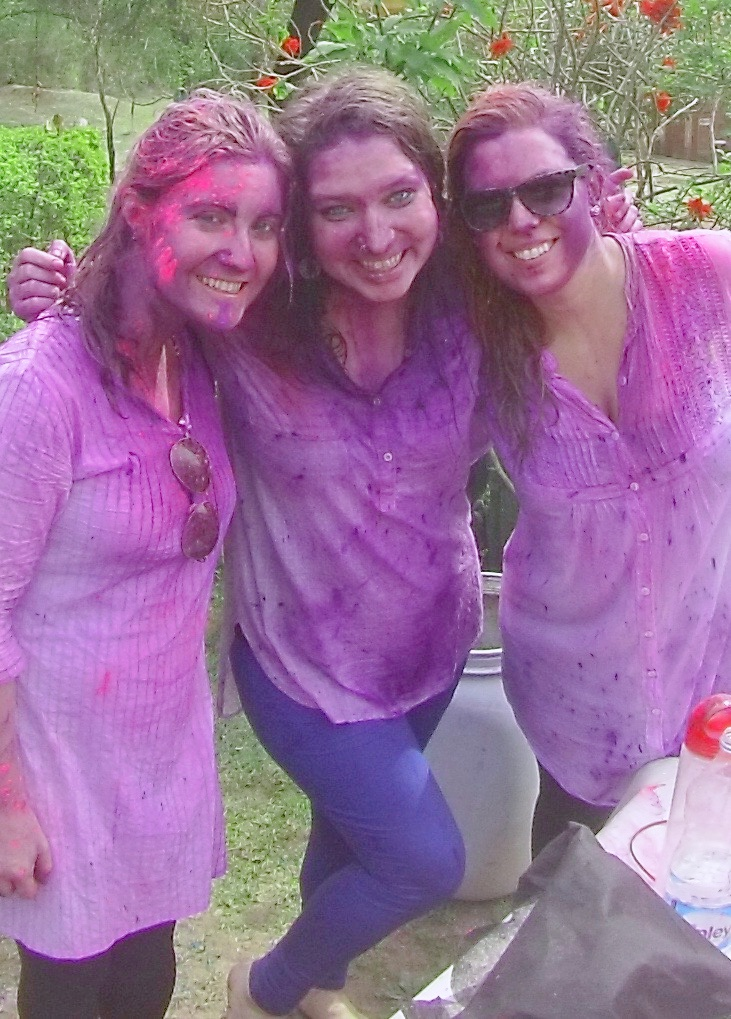 Celebrating Holi in India