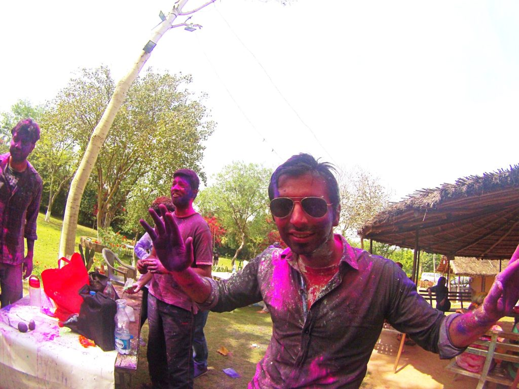 Holi: Smothered in Color (or How India Dyed My Hair Purple)