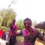 Celebrating Holi in India