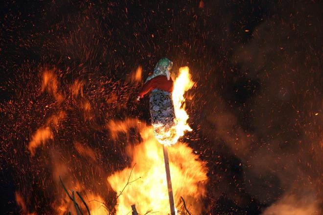 Witch Burning Prague