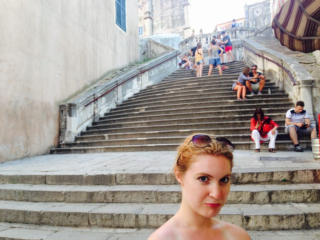 Doing Dubrovnik Cersei Lannister Style