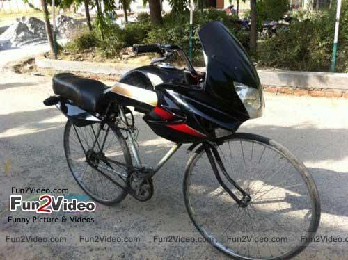 cycle-bike-funny-india