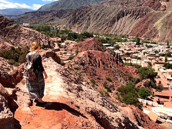 Seven color mountain Argentina