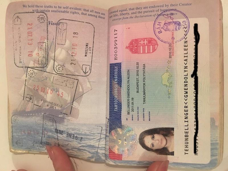 Student visa Hungary