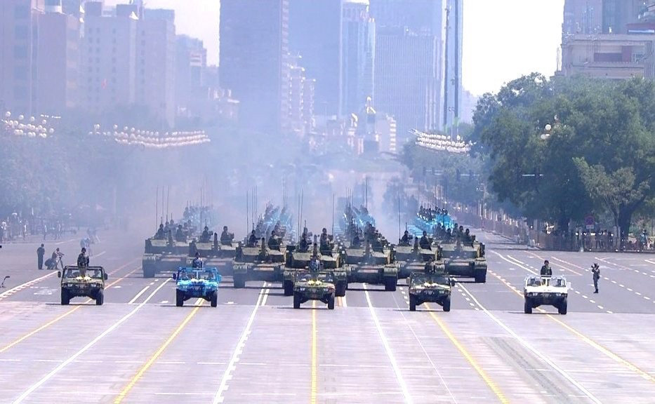 China Celebrates with Lots of Tanks (or Why I'm Leaving Beijing Next Week)