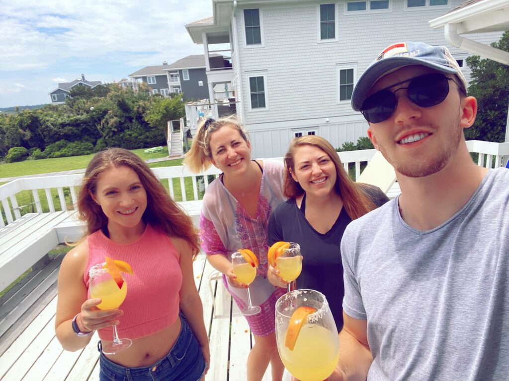 Friends with Margaritas